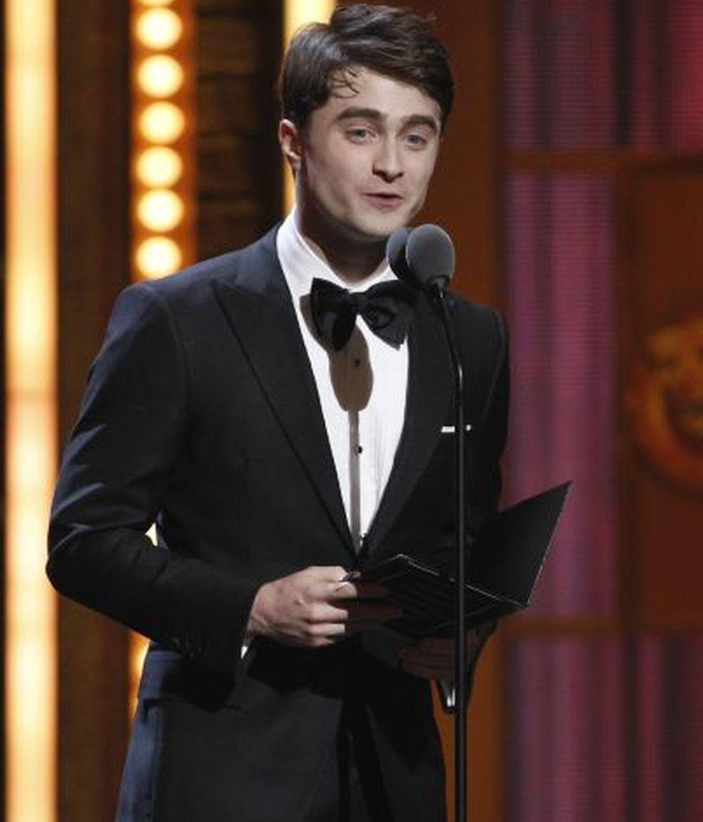 Daniel Radcliffe presentó parte de la gala