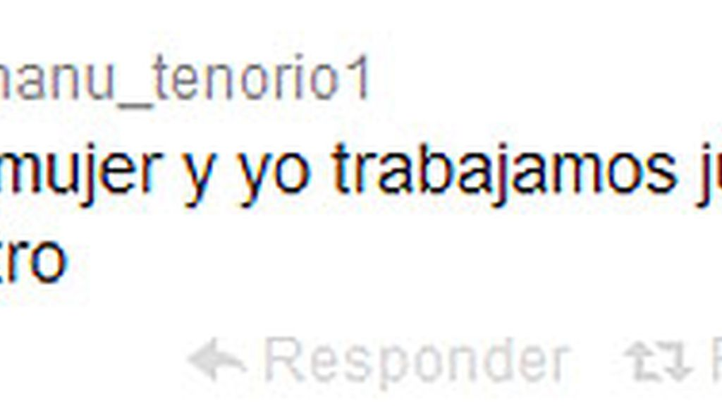 Manu Tenorio tuit