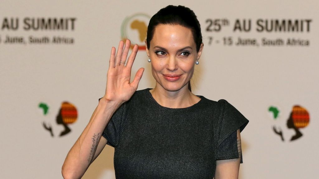 Angelina Jolie, la enviada de la ONU a la Cumbre de la Unión Africana en Sudáfrica