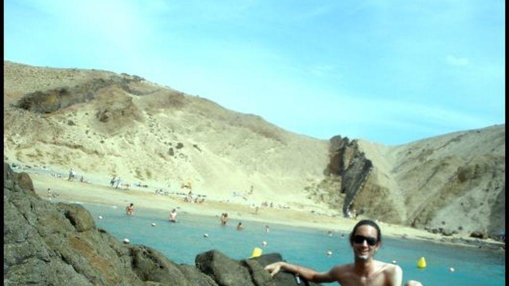 La playa del Papagayo