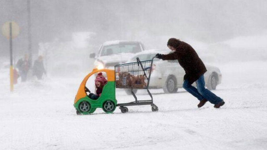 La tempestad de nieve que congela EEUU, en imágenes