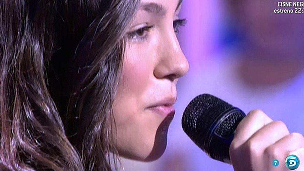 Canta 'Donde está el amor' y un poquito de 'Te he echado de menos'
