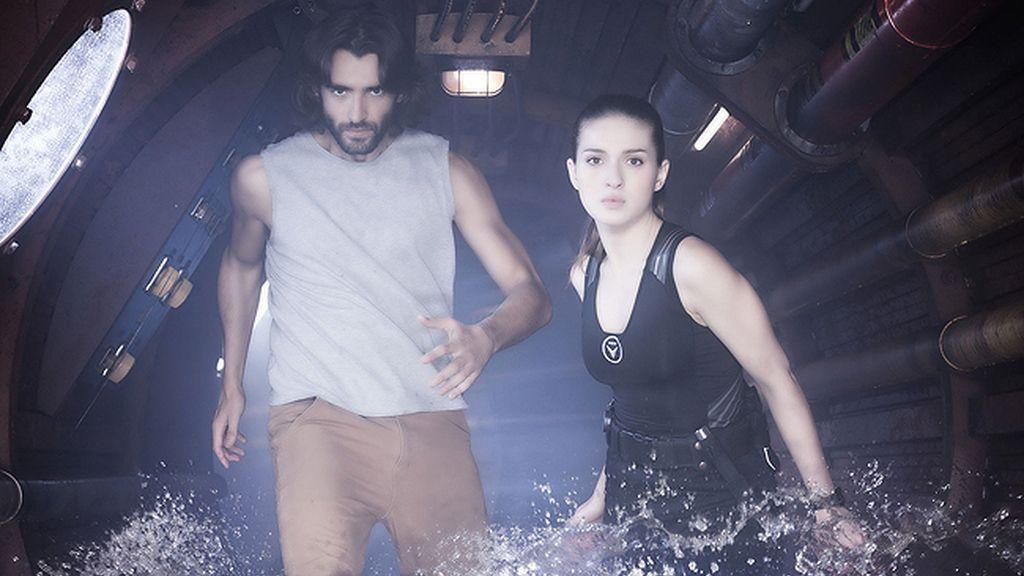 Así son Daniel (Aitor Luna) y Anna (María Valverde)
