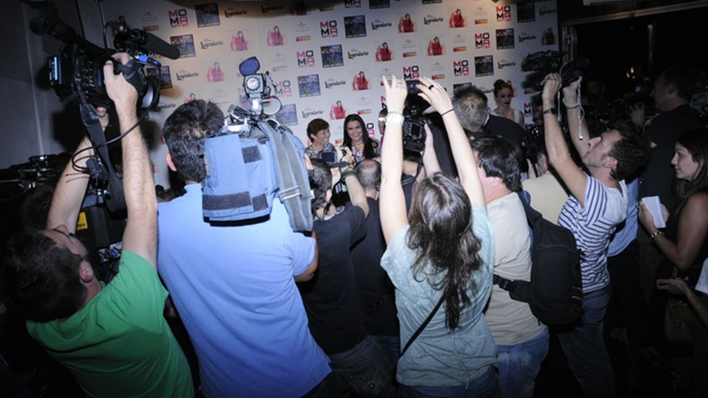 La presentación de la canción de la hermana de CR7 atrajo a multitud de medios