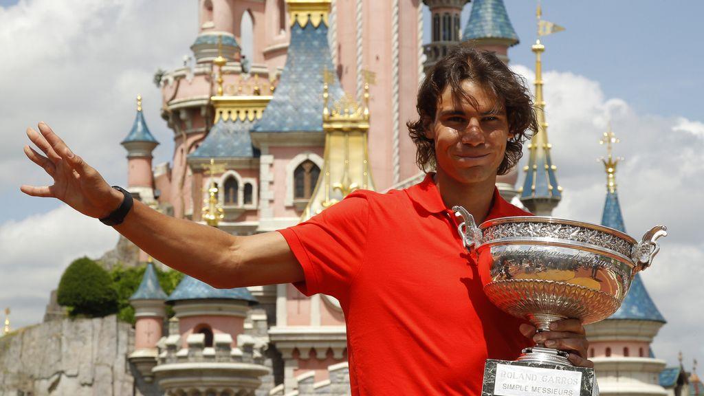 Rafa Nadal, campeón de Roland-Garros en 2010