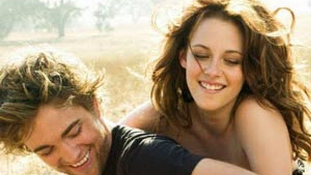 Kristen Stewart y Robert Pattison