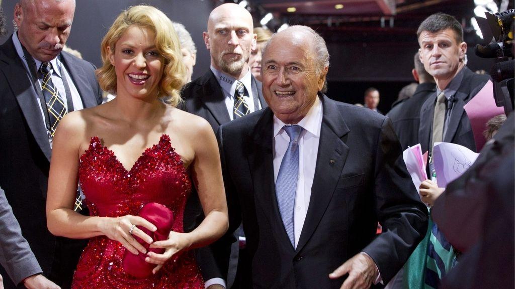 Shakira entregó el premio a la mejor futbolista
