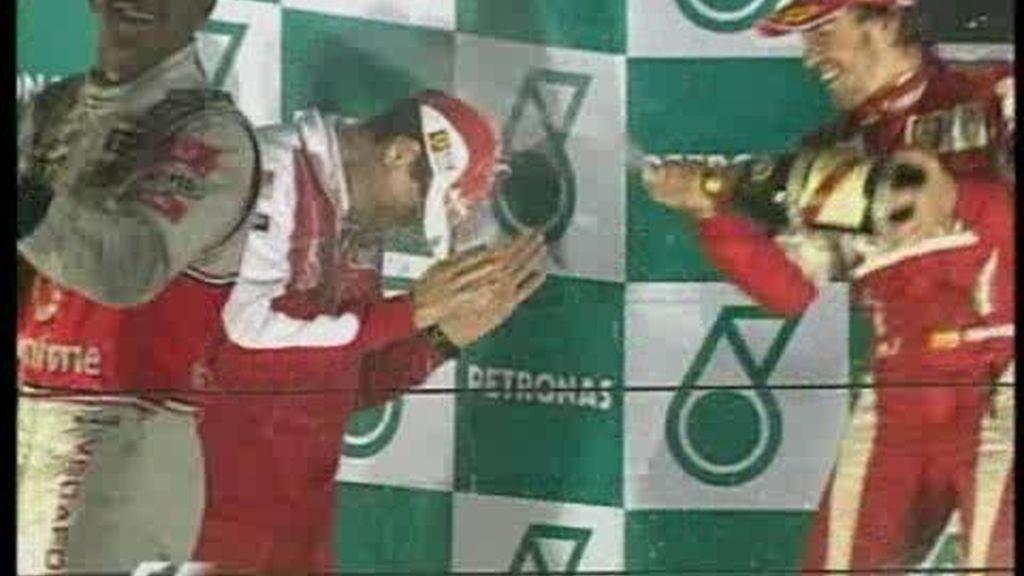 La carrera de Alonso
