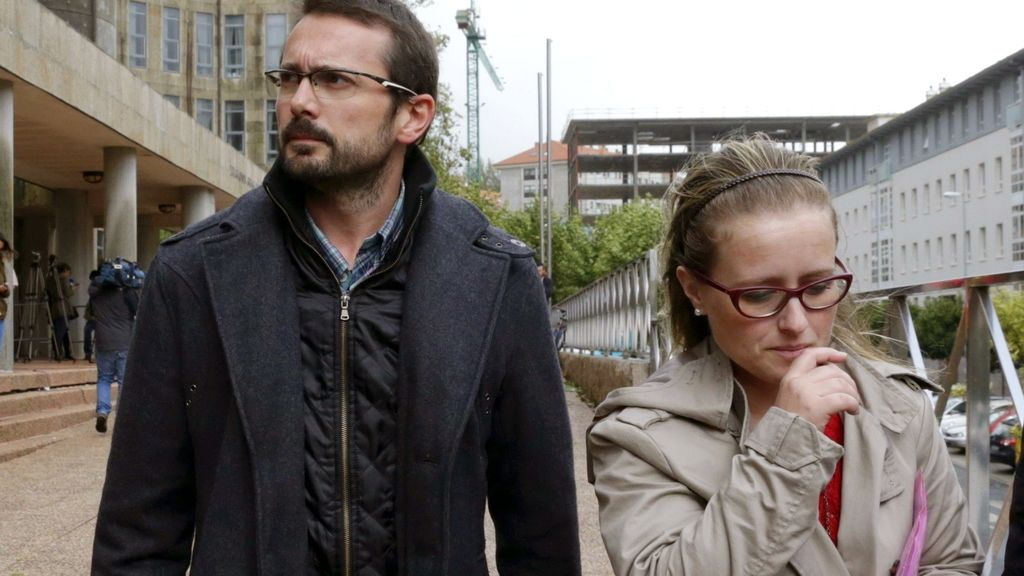 Antonio Lago y Estela Ordóñez padres de Andrea