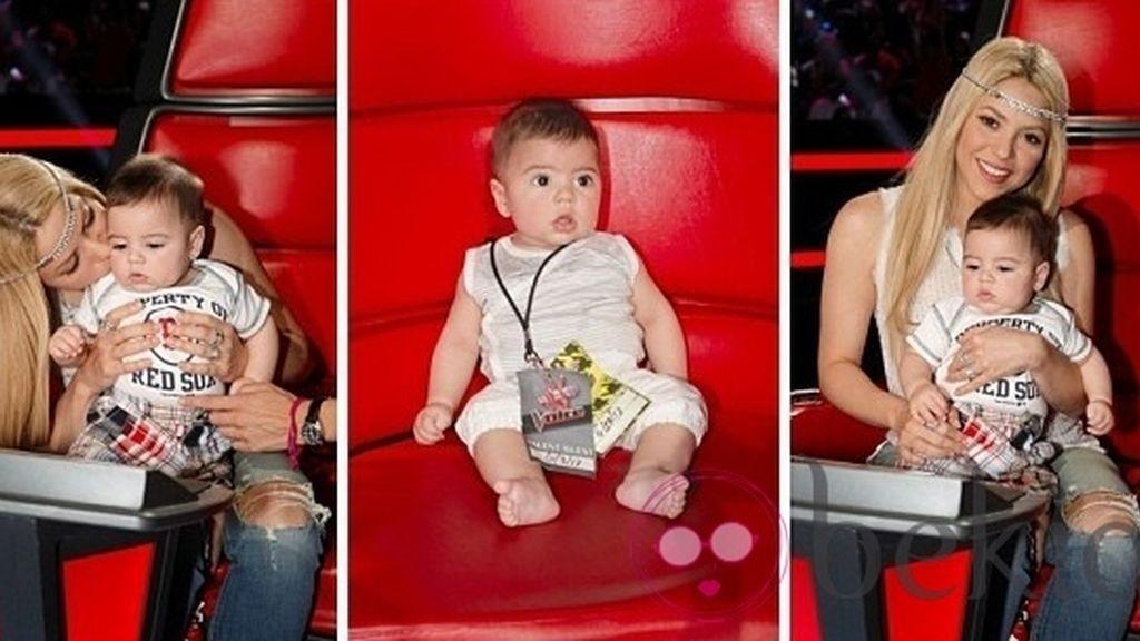 Shakira y Milan Piqué se despiden de 'La Voz'