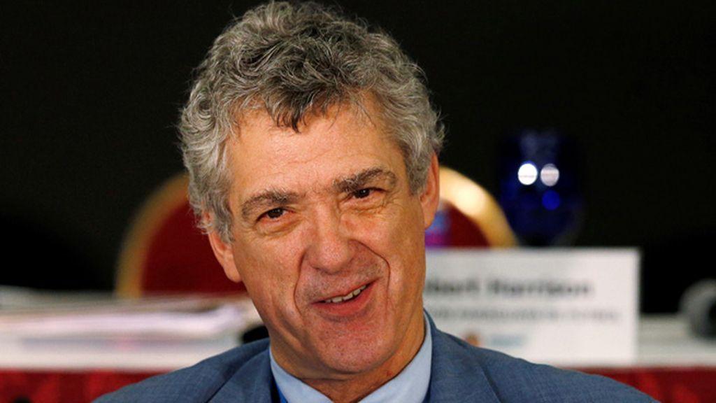 Ángel María Villar presenta su candidatura a la presidencia de la UEFA