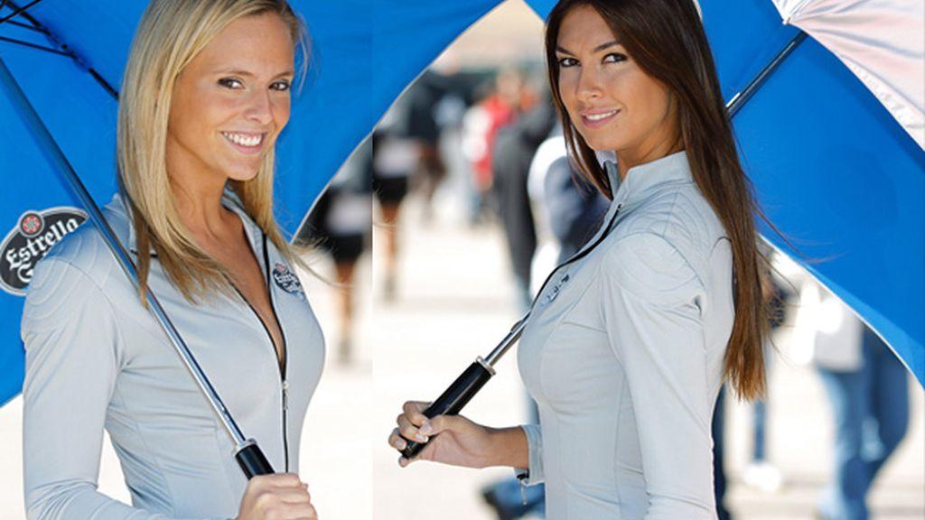 Las chicas del Paddock del GP de Aragón