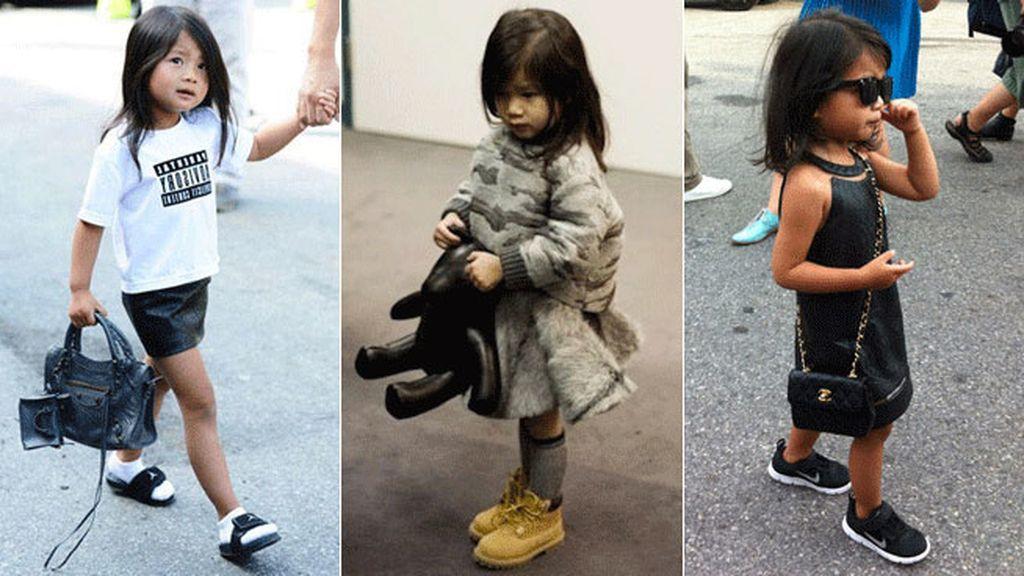 Aila Wang de Balenciaga y Chanel