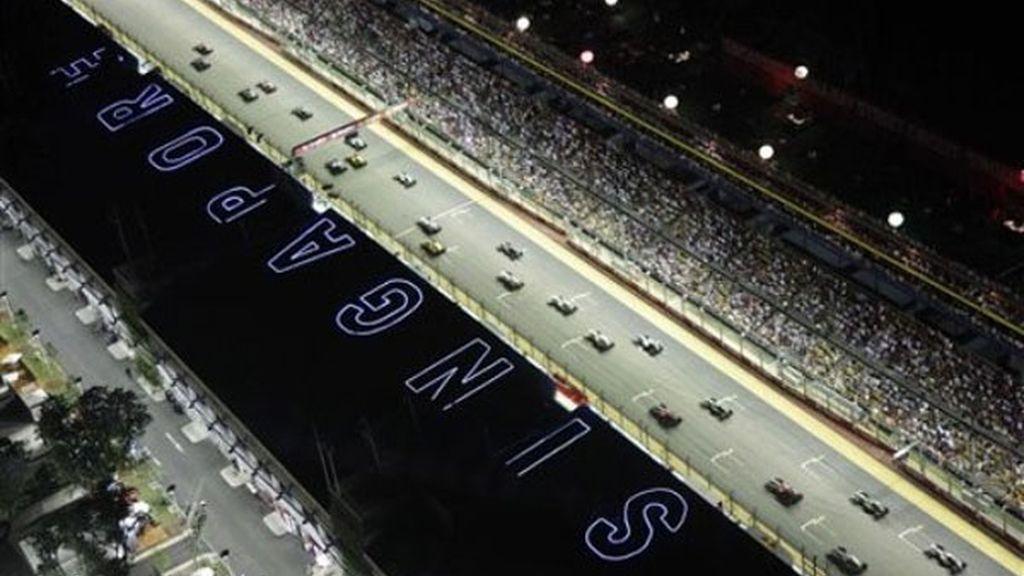 Instantes previos a una de las carreras más emocionantes del año