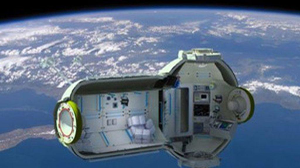 El interior del hotel espacial. Foto: Orbital Technologies