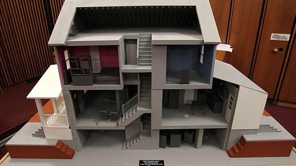 La 'casa de los horrores' de Cleveland, vista por dentro