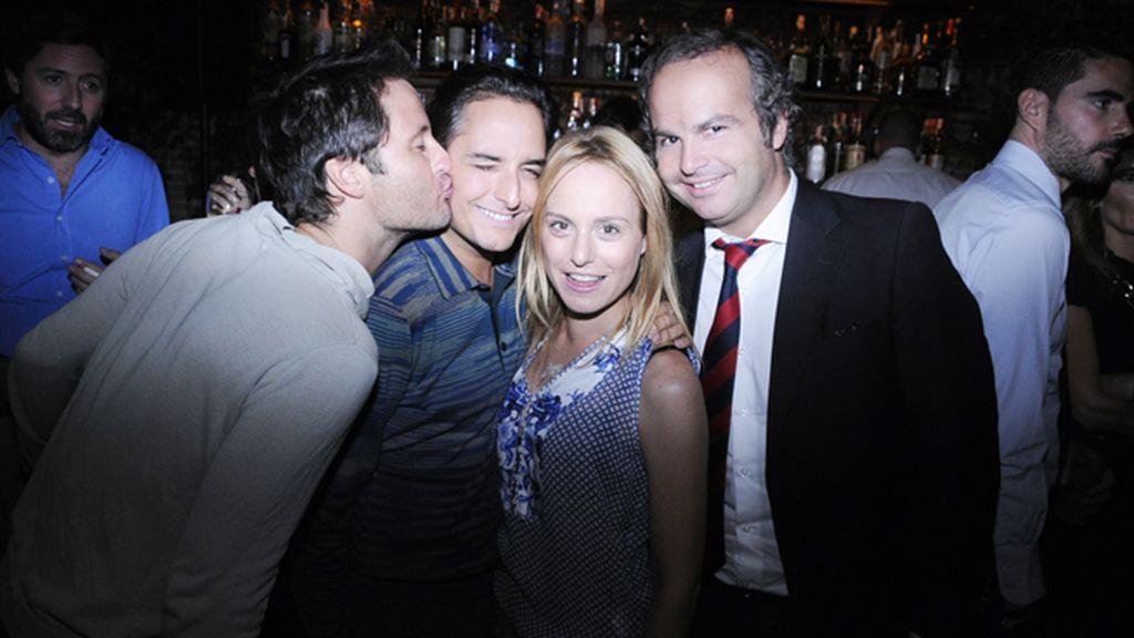 Fernando Andina, Josie, Ana Ureña y Pablo Echenique
