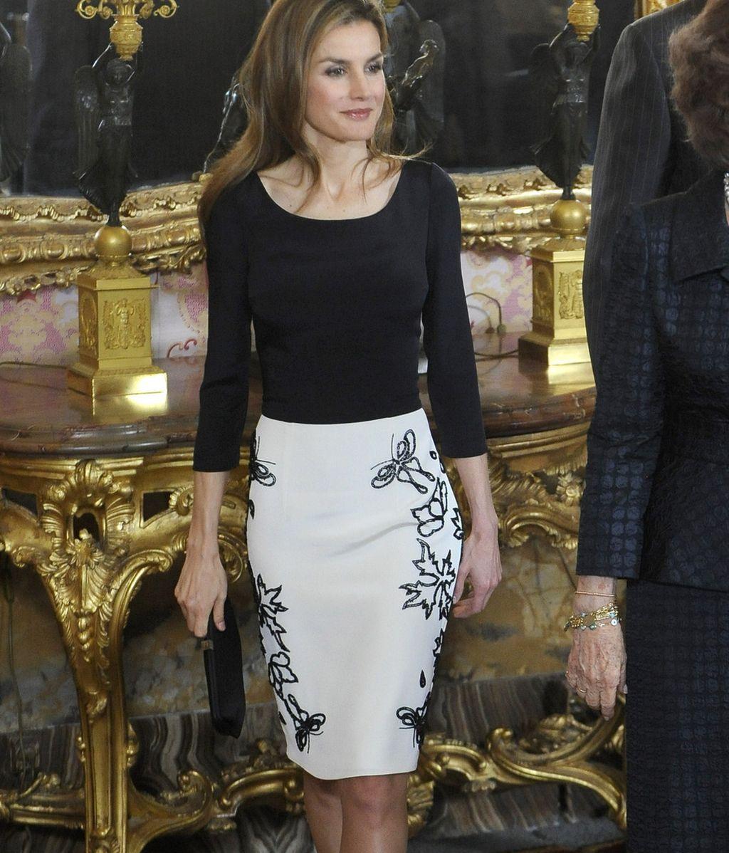 Letizia en los Premios Cervantes