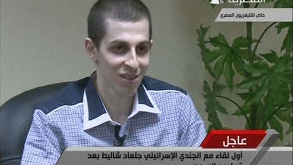 Primera entrevista de Gilad Shalit tras su puesta en libertad