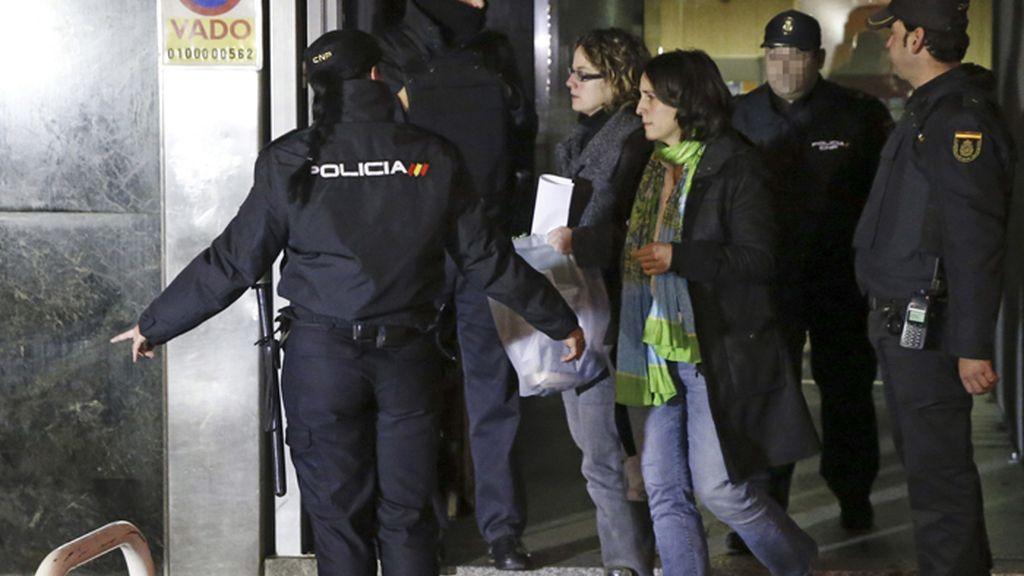 Liberadas seis detenidas de Herrira