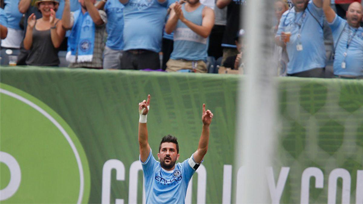 David Villa, futbolista
