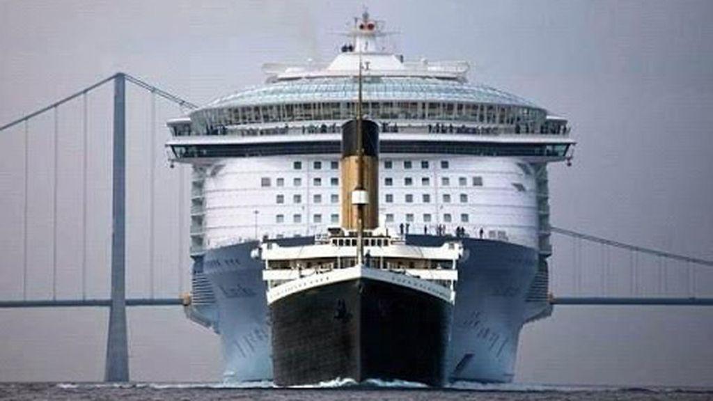El crucero más grande del mundo ya navega hasta Southampton