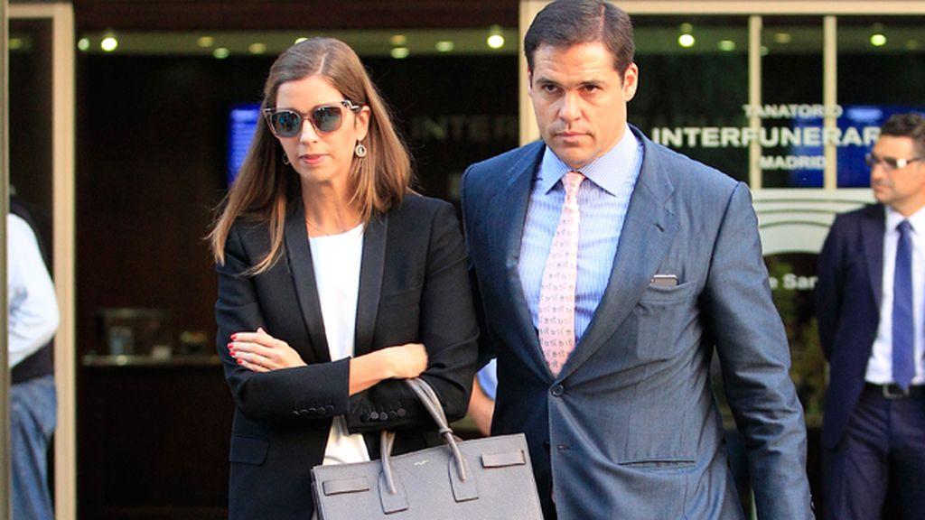 Luis Alfonso de Borbón y Margarita Vargas, amigos de la familia