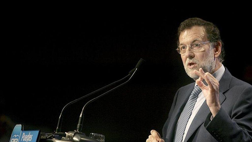 El presidente del Partido Popular (PP), Mariano Rajoy. EFE/Archivo