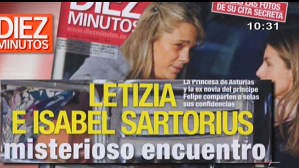La cita de Letizia e Isabel Sartorius