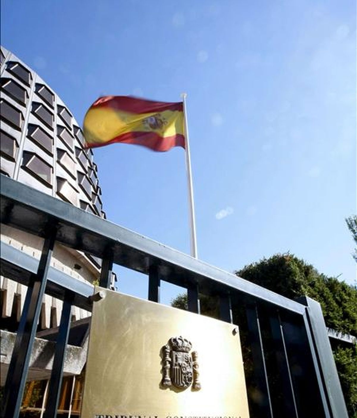 Fachada del edificio del Tribunal Constitucional. EFE/Archivo