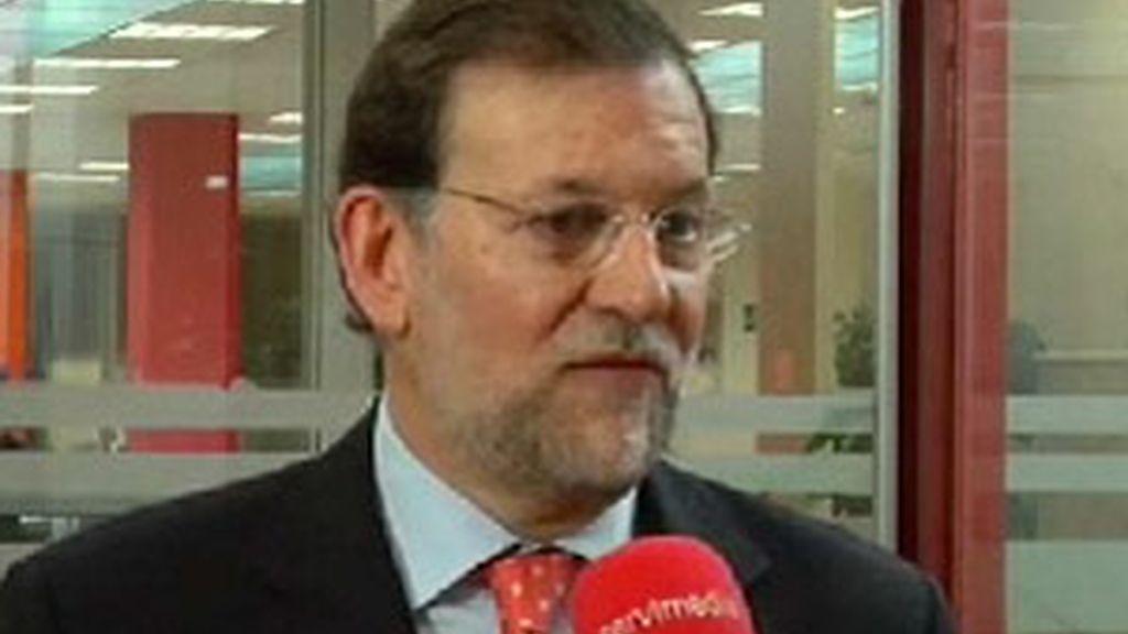 Mariano Rajoy valora el primer año del Gobierno. Vídeo:ATLAS.