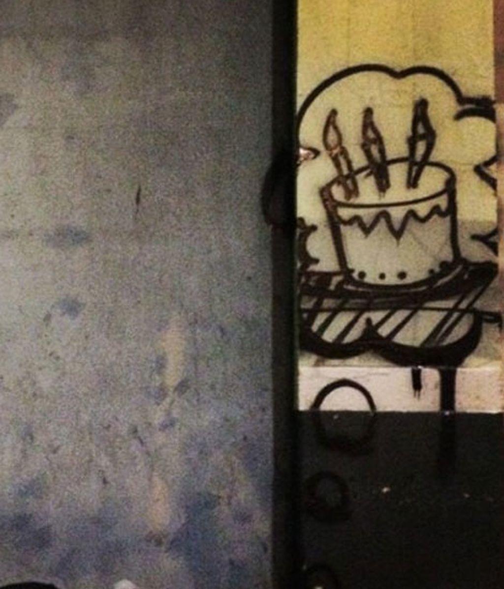 """Skid Robot, el grafitero que """"pinta"""" los sueños de los vagabundos"""