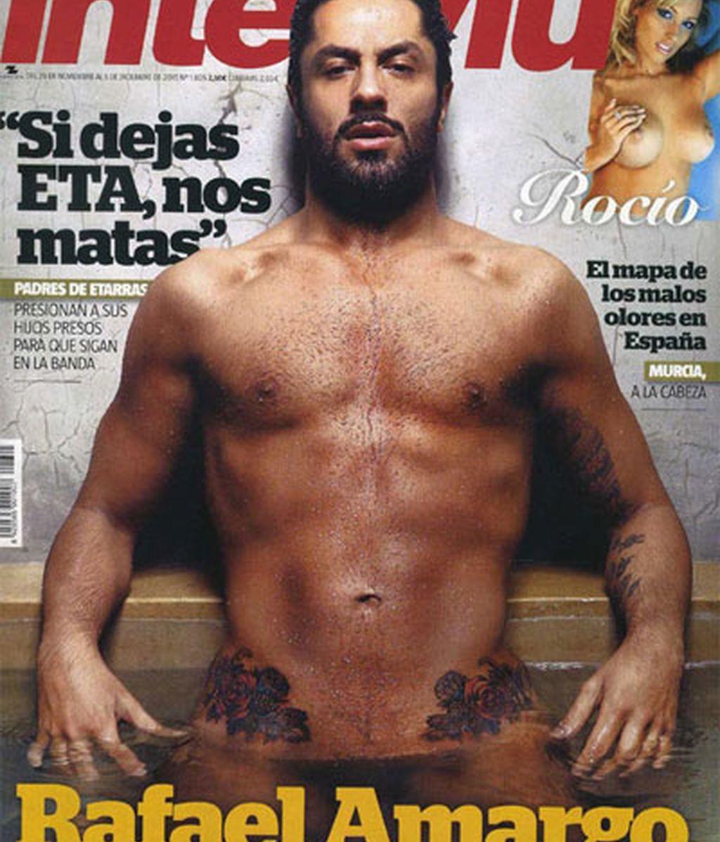 Rafael Amargo se desnuda