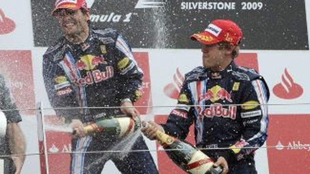 Vettel se ha llevado el triunfo en el GP de Gran Bretaña. Foto: Reuters