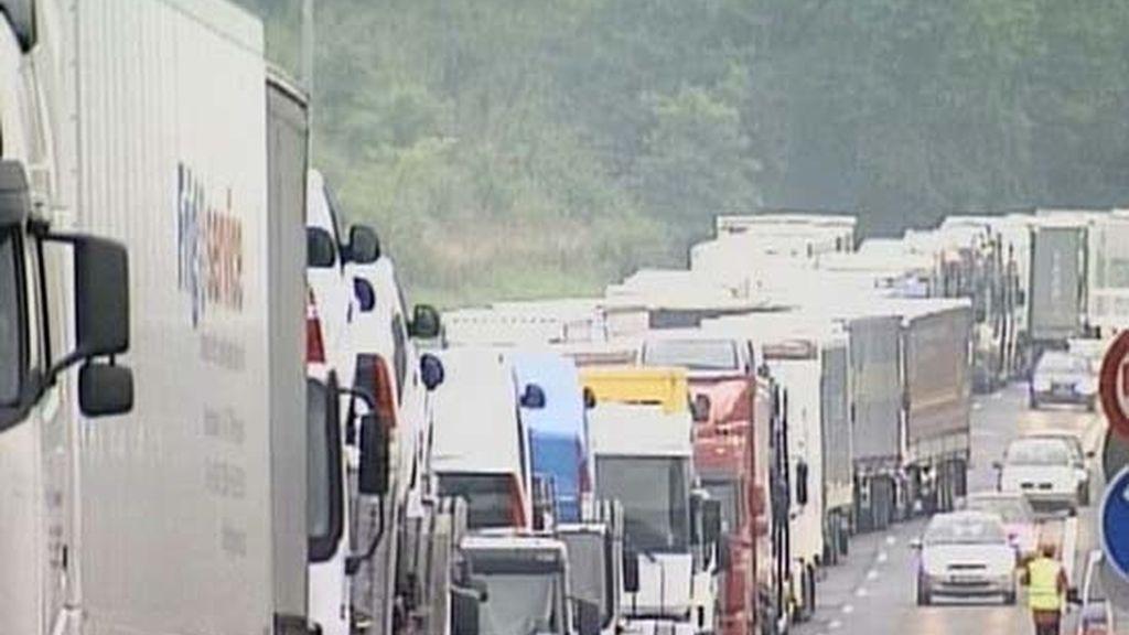 Problemas en la frontera con Francia