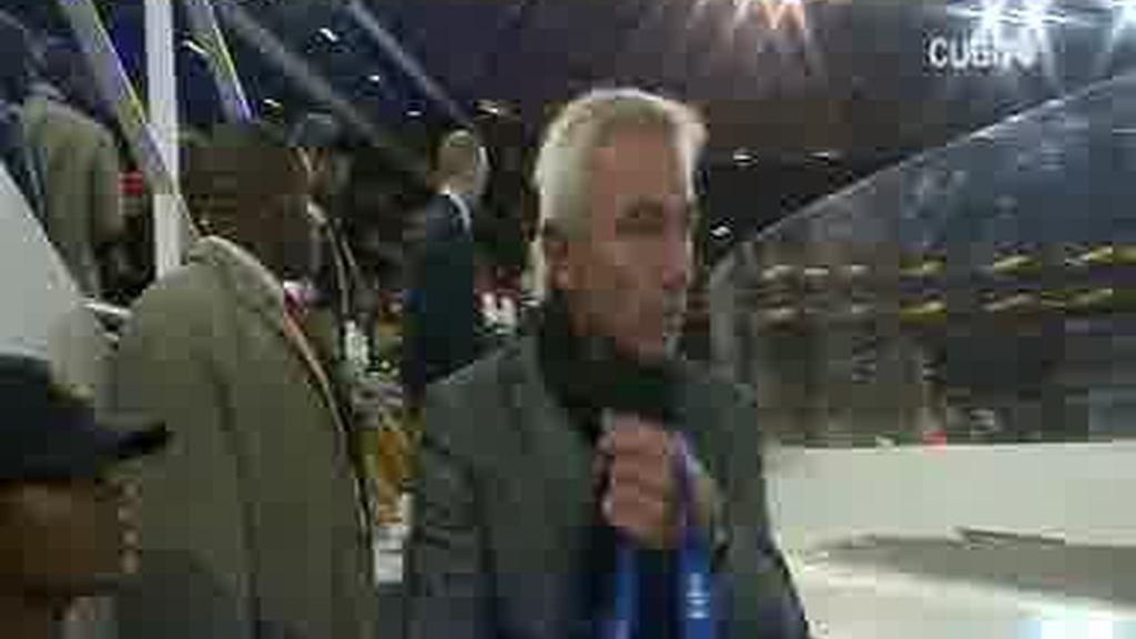 El entrenador de Holanda rechaza la medalla