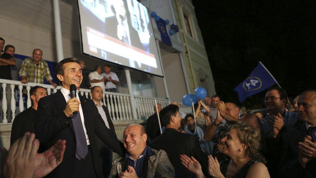 El partido del opositor Bidzina Ivanishvili  gana las elecciones presidenciales en Georgia
