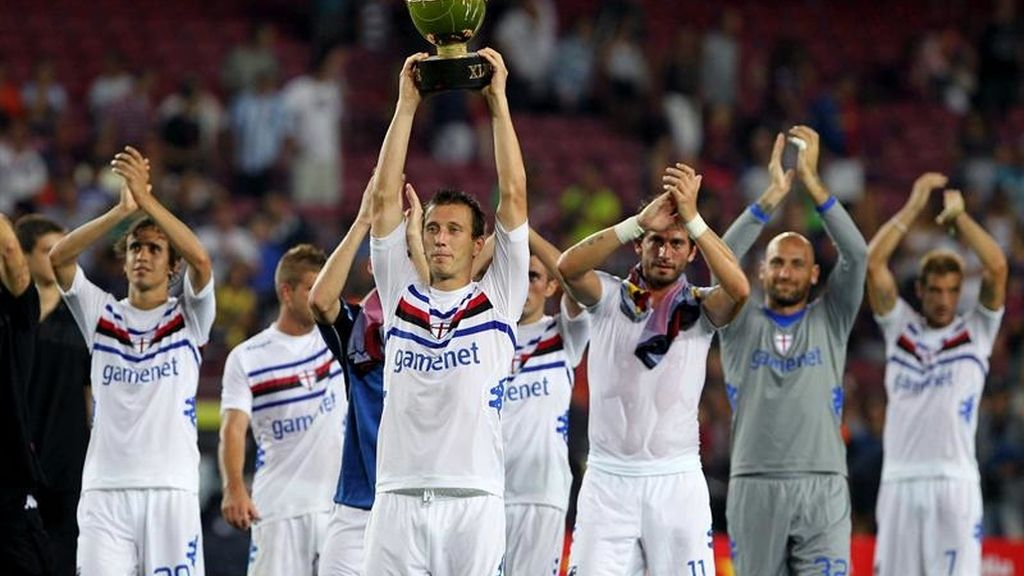 La Sampdoria se lleva un Gamper descafeinado