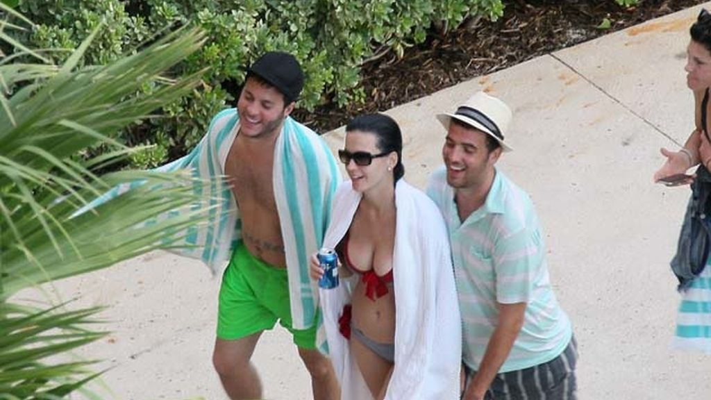 Katy Perry en Bahamas