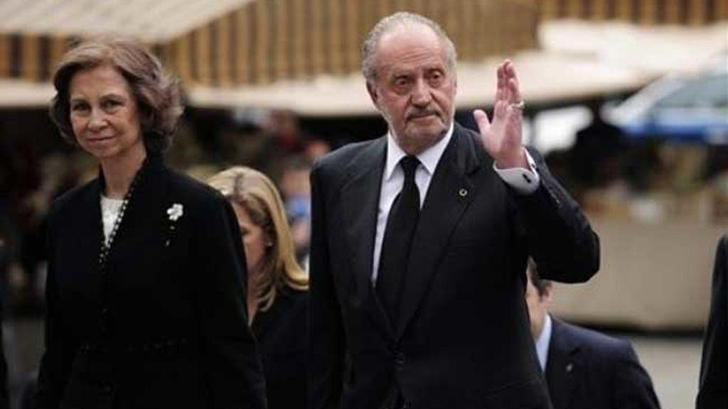 Los Reyes han presidido el funeral