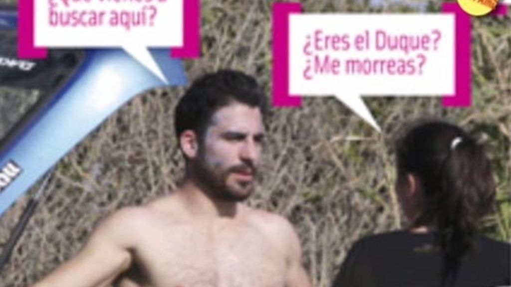 El cuerpazo de Miguel Ángel Silvestre