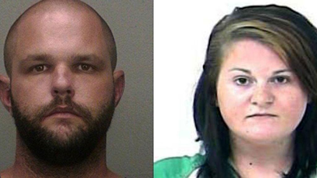 James Ayers, de 32 años, y Nicole Okrzesik, de 23 años