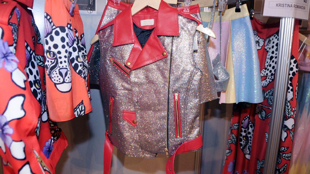 María Escoté apuesta por el rock-glam en su nueva colección.