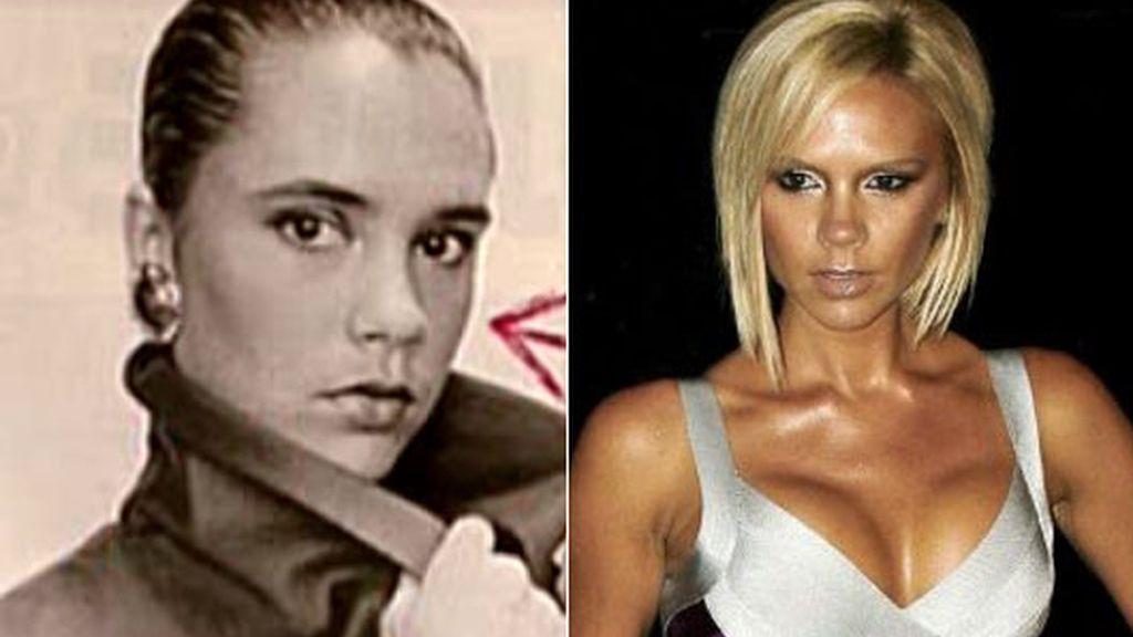 La transformación de las famosas