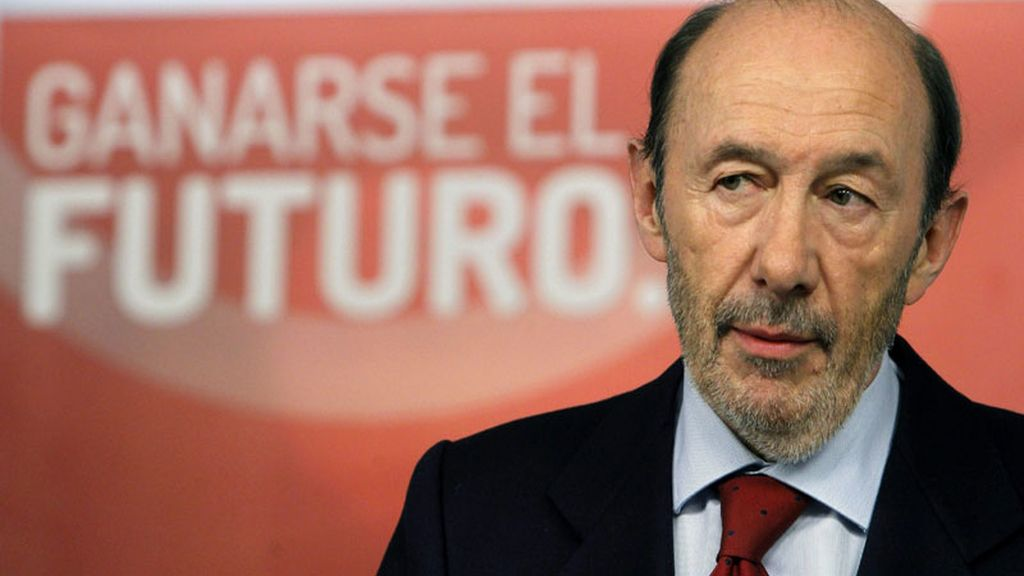 Rubalcaba, tars la reunión de la Ejecutiva Federal del PSOE