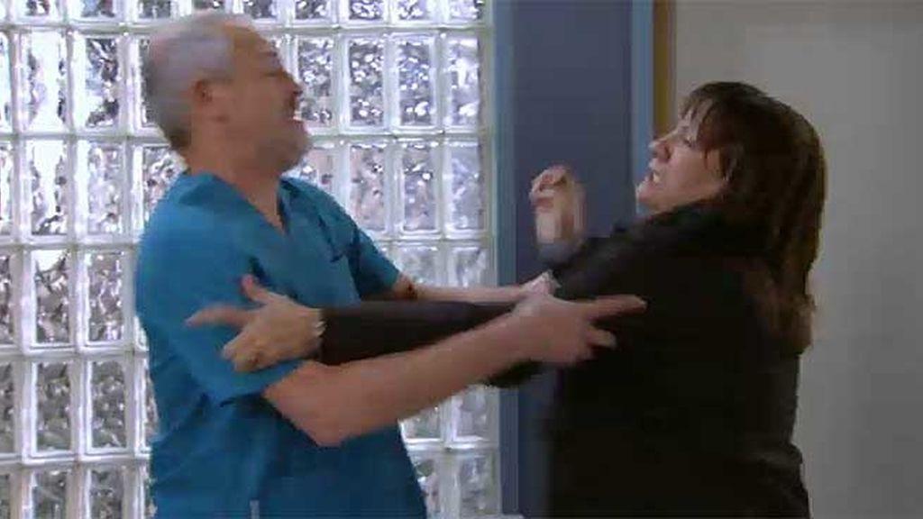 Alba no quería que Vilches operara a su marido
