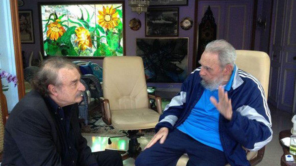 Fidel Castro reaparece en una entrevista con Ignacio Ramonet