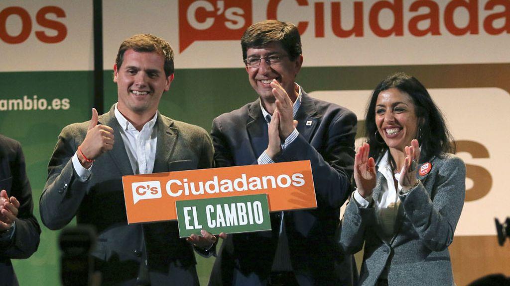 Albert Rivera, de campaña en Almería