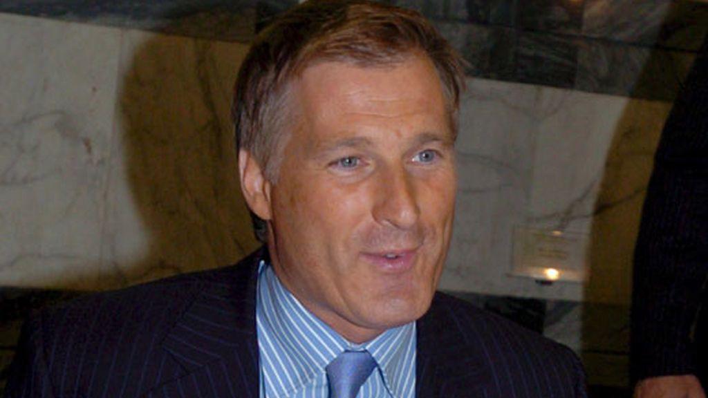 Fotografía del 21 de mayo de 2008 del ministro de Asuntos Exteriores de Canadá, Maxime Bernier. Foto: EFE