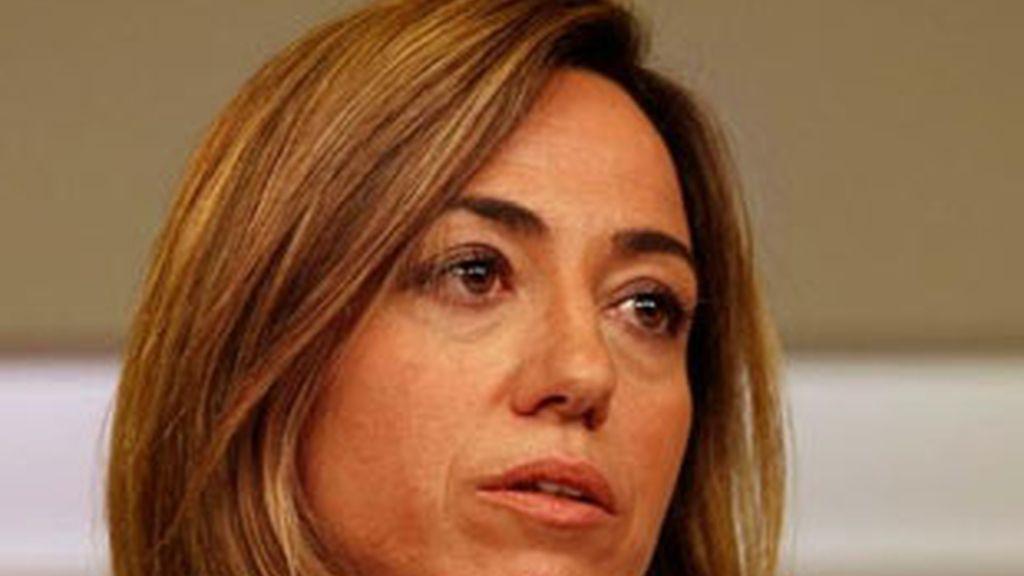 Carme Chacón en una imagen de archivo. Foto: EFE